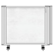 Boyd Visuals Desk Mounted Partition 560W Polycarbonate