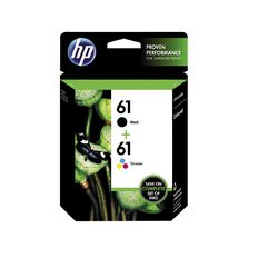 HP Ink Cartridge 61/61 Combo Pack Multi-Coloured