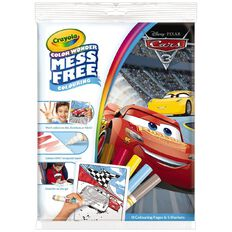 Cars Crayola Colour Wonder Mess Free Over Wrap
