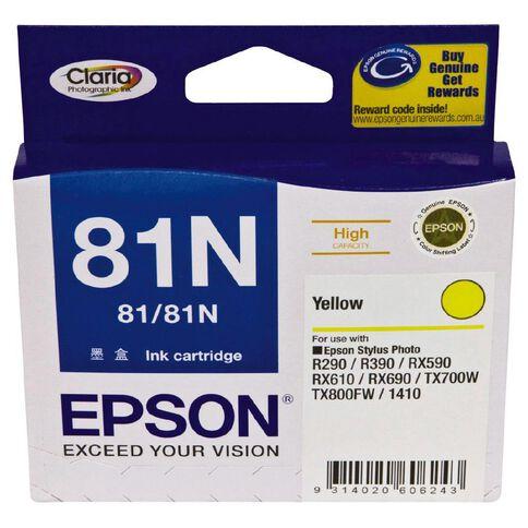 Epson Ink Cartridge 81N Yellow