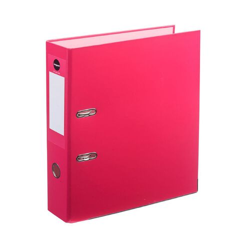 Impact Lever-Arch Pink A4