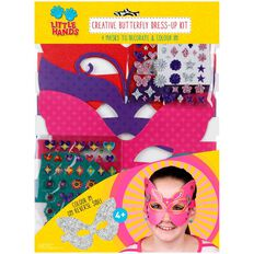 Little Hands Creative Dress Up Kit Butterfly Masks