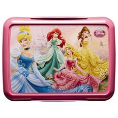 Disney Princess Klip It Lunch Box Pink 2L
