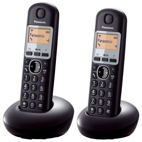 Panasonic Kx-Tgb212Nzb Twin Cordless Phone Black