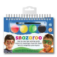 Snazaroo Face Paint 2 Step Kit Boys Multi-Coloured