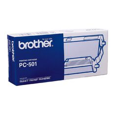 Brother Fax Refill PC501 Black