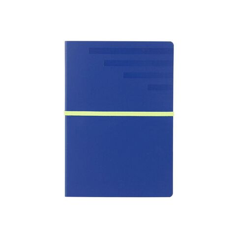Paper Lane Journal PU Exposed Blue A5