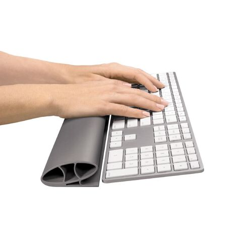 Fellowes I-Spire Keyboard Wrist Rest Grey