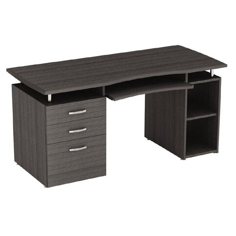 Buro Seating Spencer Desk Charcoal