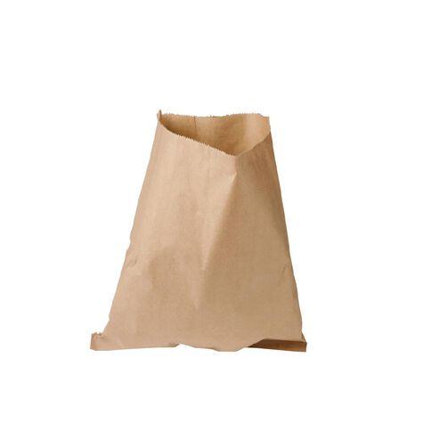 Unibag Paper Bags Flat Brown #10 305 x 350mm 500 Pack Brown
