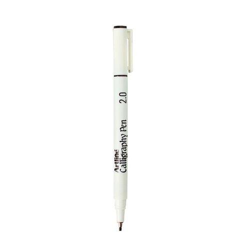 Artline Calligraphic Pen 2mm Loose Black