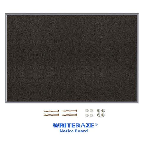 Writeraze Pinboard 900 x 1200mm Charcoal