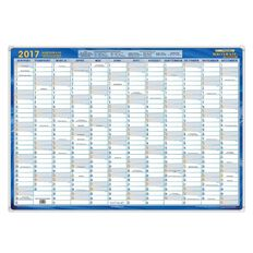 Writeraze 2017 Executive Planner Qc (700X1000Mm) Blue