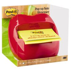 Post-It Apple Pop-Up Note Dispenser Apl-330 76mm x 76mm Multi-Coloured