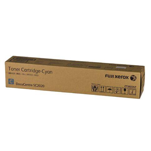 Fuji Xerox Toner CT202247 Cyan