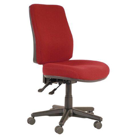 Buro Seating Roma 2 Lever Highback Chair Burgundy