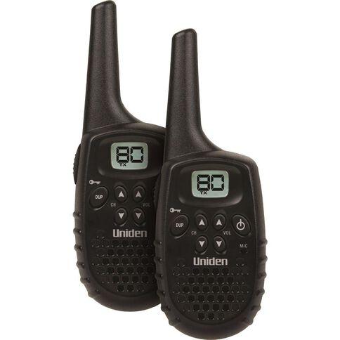 Uniden Uh405Sx-2Nb Twin Pack UHF Radio Black