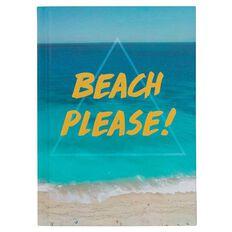 Banter Beach Please Hardcover Notebook A6