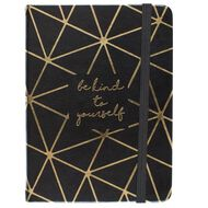 Uniti Breathe Notebook Black/Gold A6