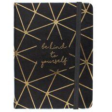 Uniti Breathe Notebook Black/Gold A6