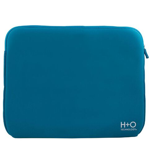 H+O Technology 14 inch Laptop Sleeve Blue