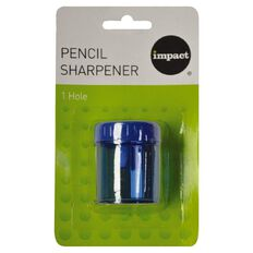 Pencil Sharpener 1 Hole Multi-Coloured