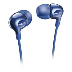 Philips In Ear Earbud Headphones SHE3700B Blue