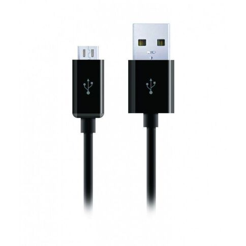 Cygnett USB To Micro USB Charge & Sync Cable Black