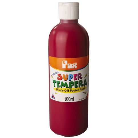 FAS Fas Paint Super Tempera 500ml Burgundy