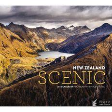 John Sands Desk Calendar Scenic 2018