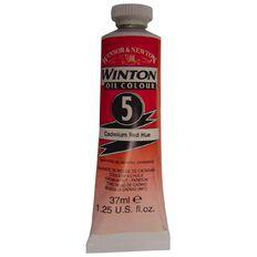 Winton Oil Paint 37ml Cadmium Red
