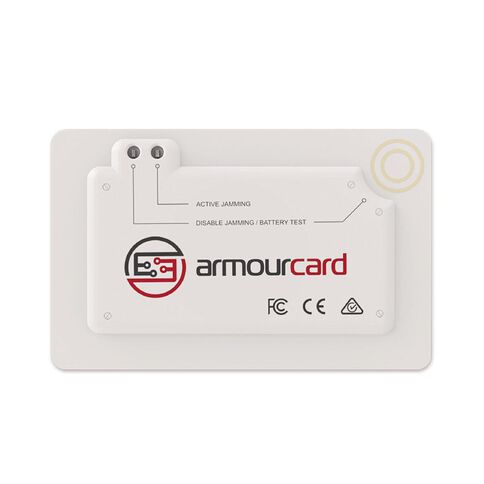 Armourcard Wireless Skimming Protector White