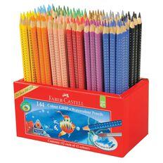 Faber-Castell Caddie 144 Watercolour Grip Colour Pencils