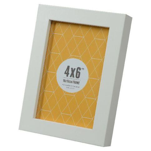 Promenade 4 x 6 Photo Frame White