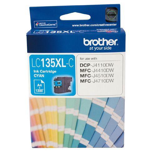 Brother Ink Cartridge LC135XL Cyan