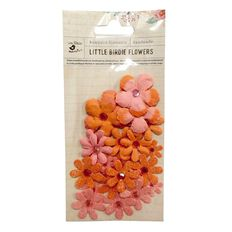 Little Birdie Flowers Tie Dye 30 Piece Assorted
