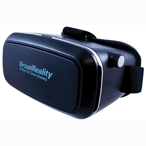 Virtual Reality Headset Black