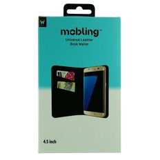 Mobling Universal 4.5 inch Folio Wallet Black