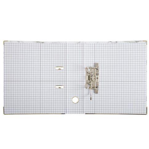 Uniti Marble Lever Arch File White