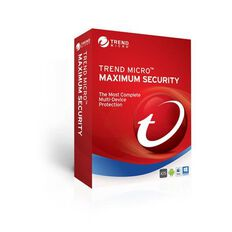 Trend Micro Maximum Security 4 Device 1 Year 2017