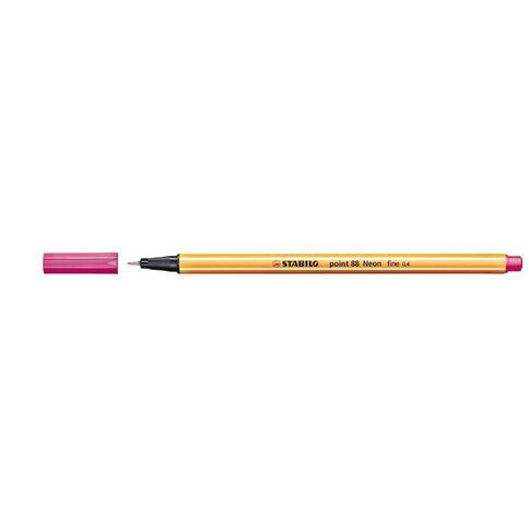 Stabilo Point 88 Fineliner 0.4mm Neon Pink