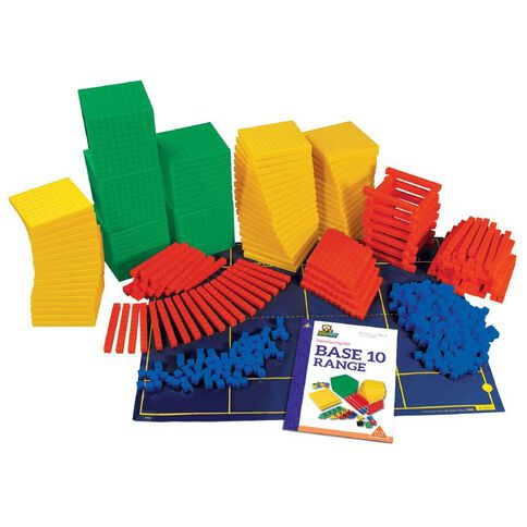 Tfc Mab Base Ten Class Set Plastic Multi-Coloured