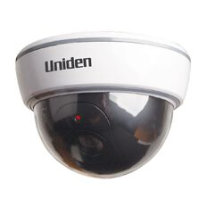 Uniden G110 Outdoor Imitation Outdoor Camera with LED Light Silver