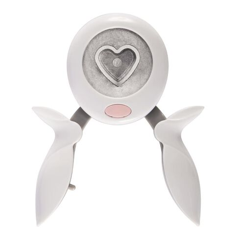 Fiskars Teresa Collins Squeeze Punch Heart White