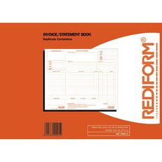 Rediform Invoice Book Rtinv2 Duplicate 50 Sets Red