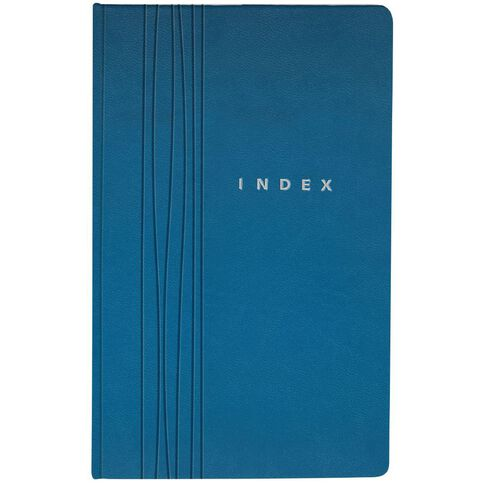 Eurobrands Index Book Faux Leather Teal