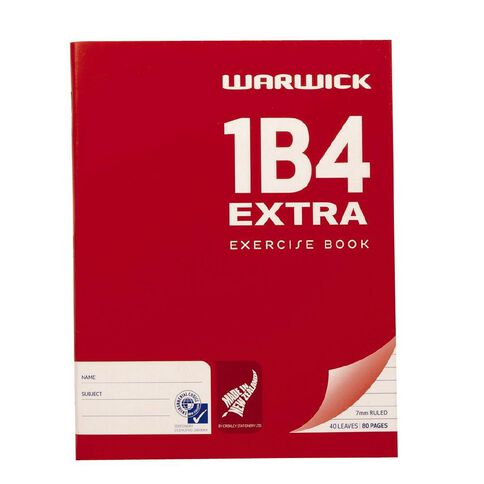 Warwick Exercise BK 1B4 Extra Red