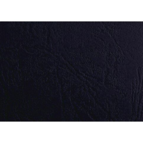 Ibico Binding Cover Leathergrain 300gsm 100 Pack Blue