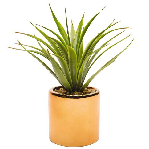 Uniti Artificial Potted Grass Rose Gold
