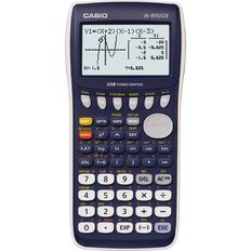 Casio Graphics Calculator F x 9750GII Black